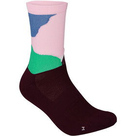 POC Essential Print Socks, color splashes multi opal/basalt
